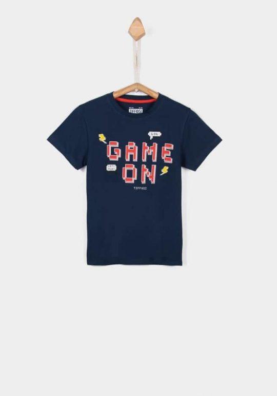 T-Shirt 'Pixel Medieval Blue' Tiffosi