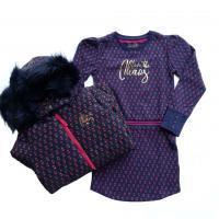 Chaos and Order jurkje en winterjas voor meisjes