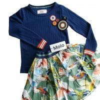Rokje van Molo en 4funkyflavours t-shirt voor meisjes