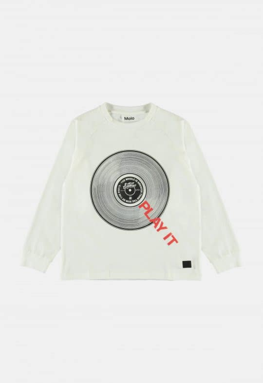Longsleeve 'Ring White Star' Molo