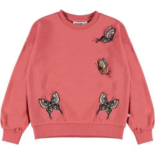 roze sweater meisje Molo Malena