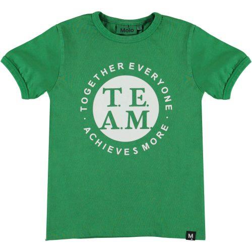 T-shirt Molo jongens groen jungle