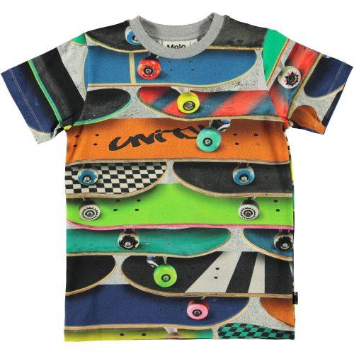 T-shirt Molo jongen skateboards
