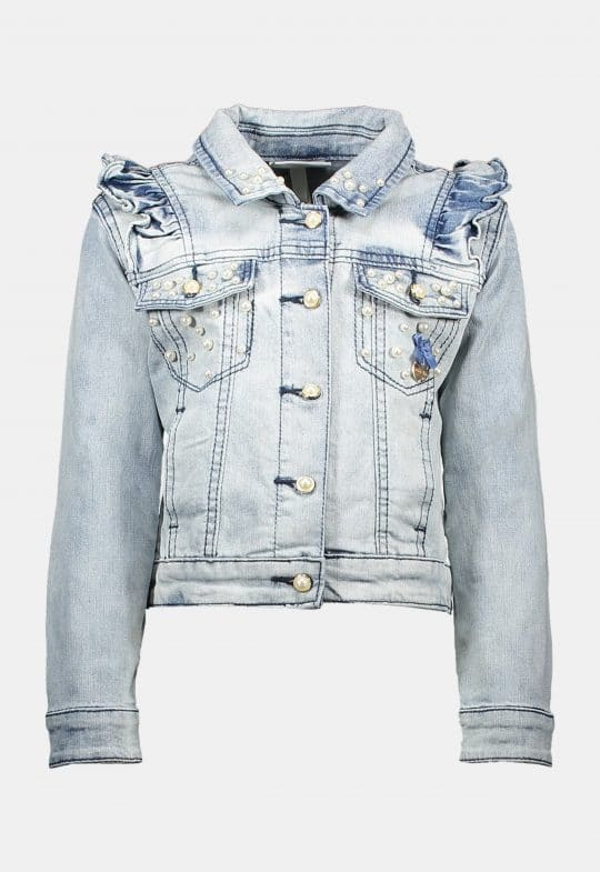 Jeans Jacket 'Light Washed' Le Chic