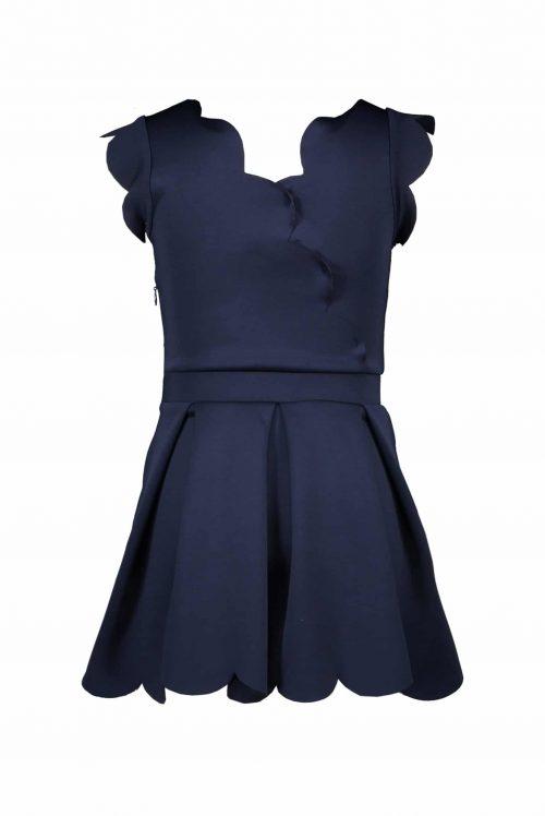 Jurk Le Chic meisje blauw