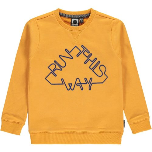 Sweater jongen Tumble 'n Dry geel