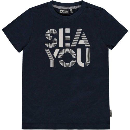 T-shirt jongen Tumbl 'n Dry blauw