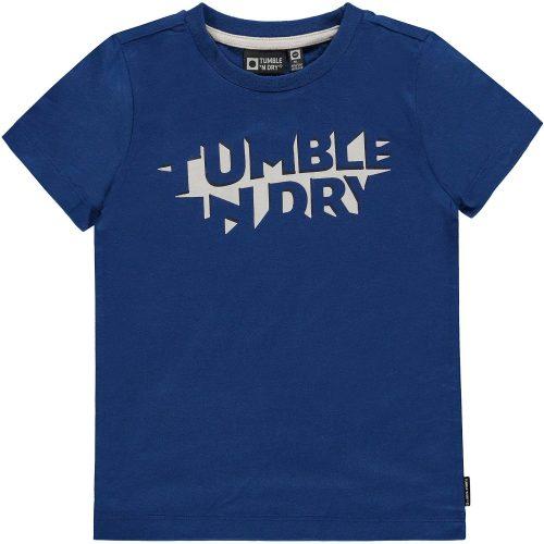 T-shirt jongen Tumble 'n Dry blauw