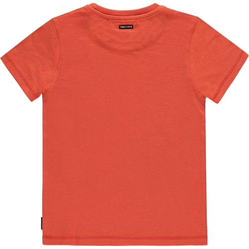 T-shirt Tumble 'n dry jongen oranje