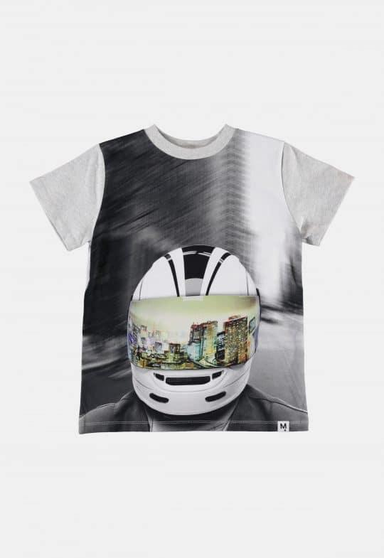 T-Shirt 'Road MC Helmet' Molo