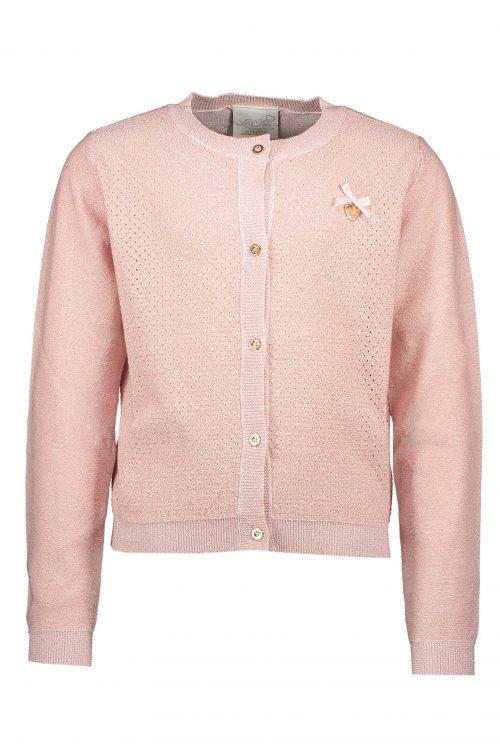 Cardigan Le chic meisje roze hart