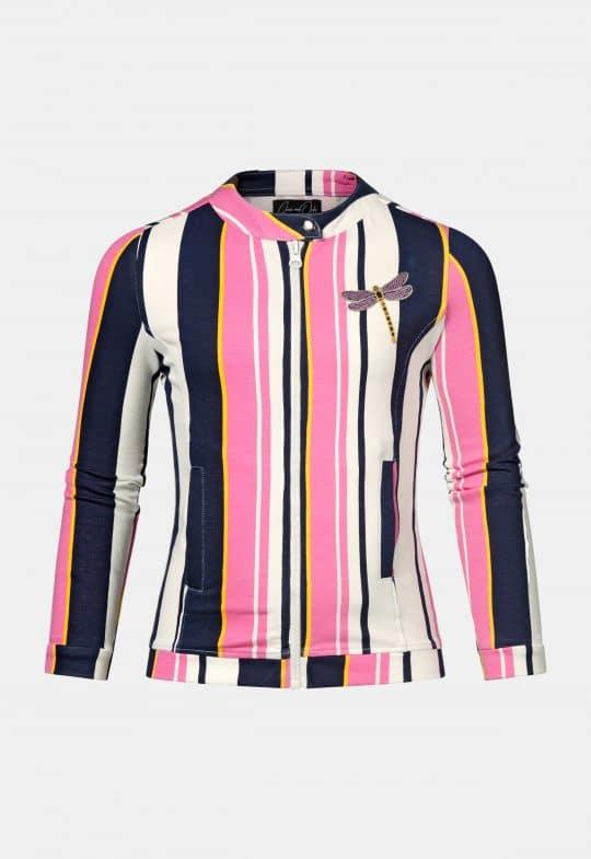 Vest 'Tara Pink Stripe' Chaos and Order