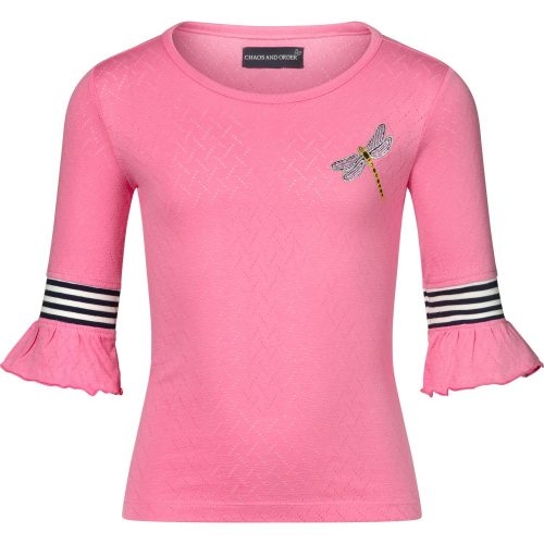 T-shirt roze meisje Chaos and Order