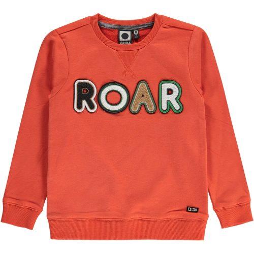 Sweater Tumble 'n Dry jongen rood ROAR