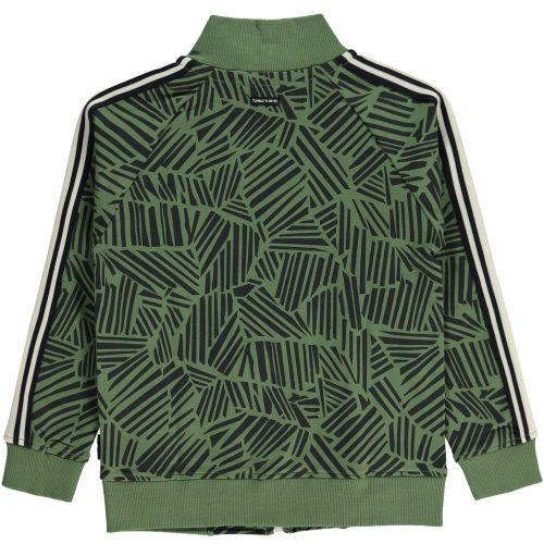 Vest sweater Tumble 'n Dry jongen groen blauw