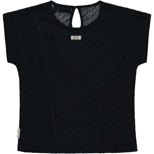 Top t-shirt Tumble 'n Dry meisje zwart