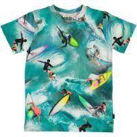 T-shirt Molo jongen blauw surf