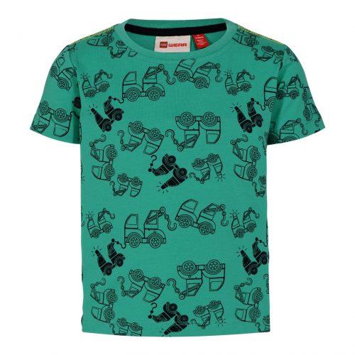 T-shirt Lego wear jongen groen blauw