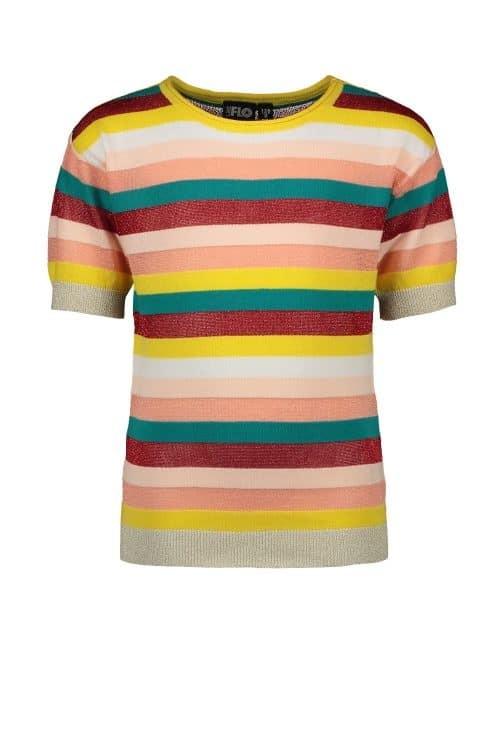 Top t-shirt Like Flo meisje multi color