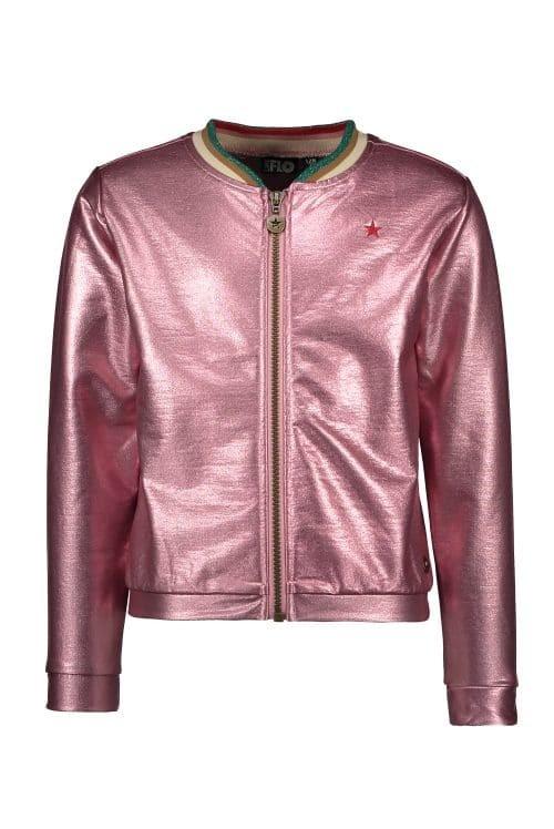 Vest Like Flo metallic roze