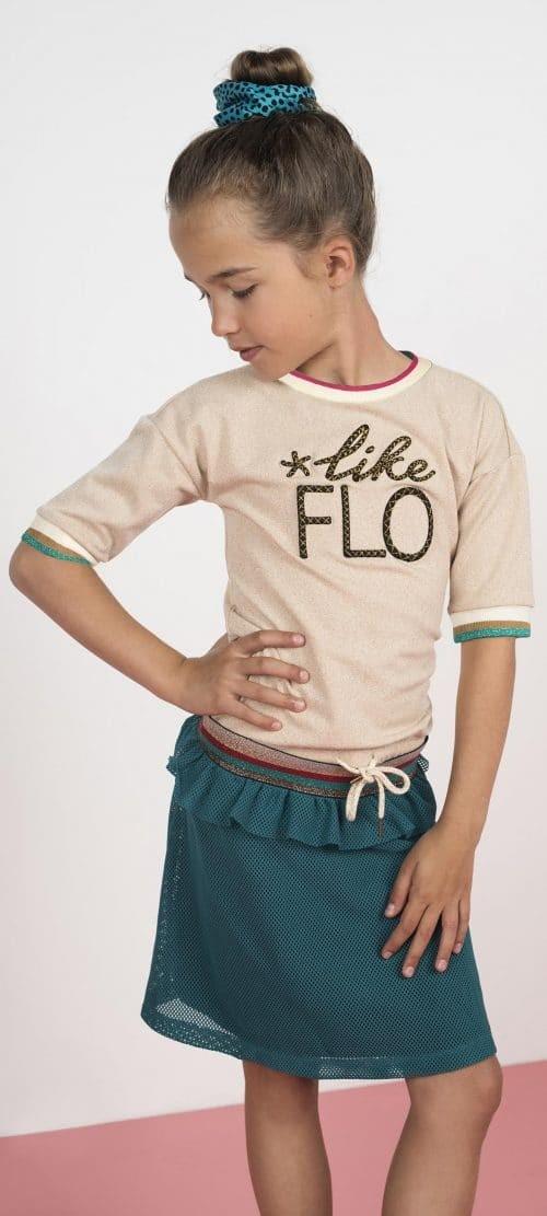 Rok Like Flo meisje mesh groen
