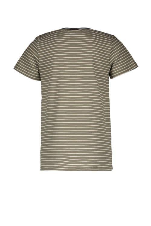 T-shirt Like Flo jongen kaki beige