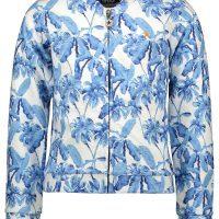 Vest Like FLO meisje blauw wit