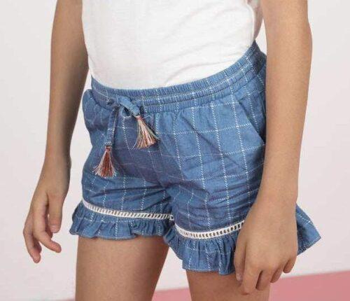 Short Like FLO meisje blauw