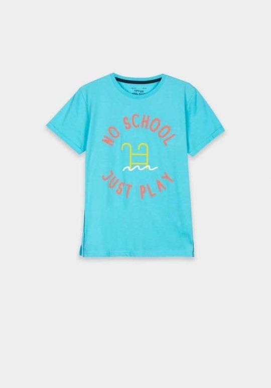 T-shirt Tiffosi jongen blauw