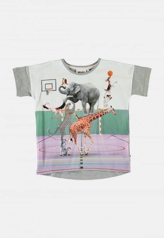 T-Shirt 'Raeesa- Animal pyramid' Molo