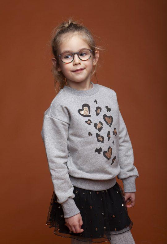 Sweaters en truien Oversized sweater 'Leopard Love'