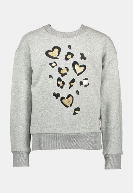 Oversized sweater 'Leopard Love' Le Chic