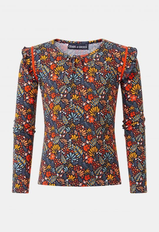 """Longsleeve""""Pippa - Red"""" Chaos and Order"""