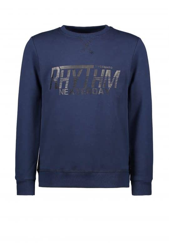 Sweater Tygo en Vito jongen blauw