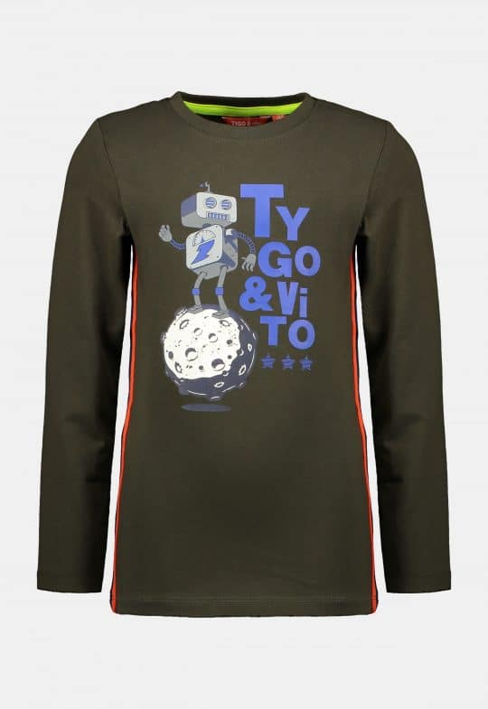 Longsleeve 'Robot' Tygo & Vito