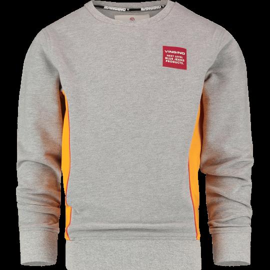 Sweater Vingino jongen grijs geel